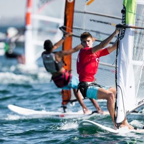 b9b3643542 Competition gets underway at Mussanah Race Week as international fleet  takes to the water